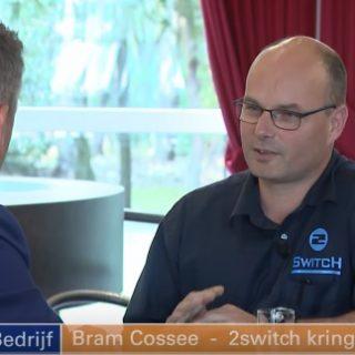2Switch kringloopwinkel Venray in uitzending 'Venray in bedrijf' van Peel en Maas TV
