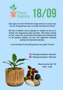 Plant en bakkie